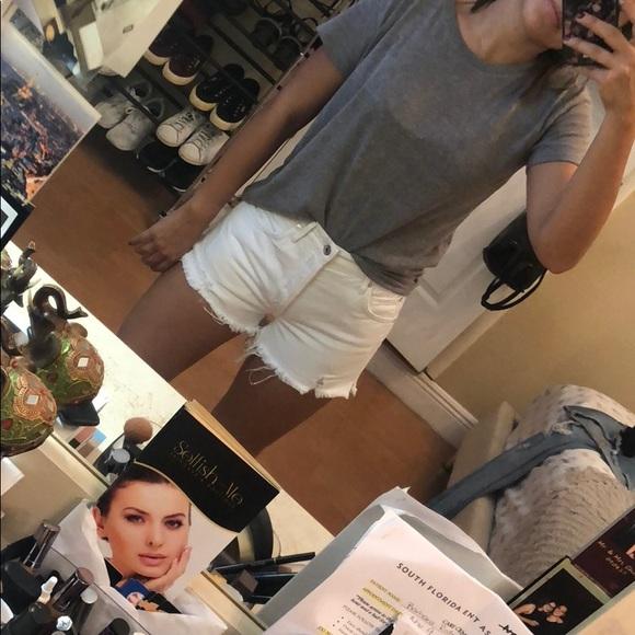 d3c1d6bb61 Agolde Pants - AGoldE Parker Vintage Cut Off Shorts (Size 25)